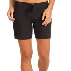 Patagonia Board Shorts Black Zip Pocket 1387